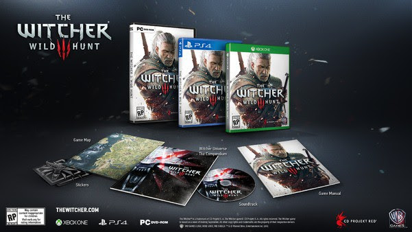 the witcher 3_pre order1