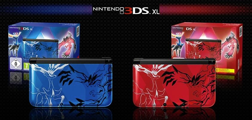 3DS XL XY Edition