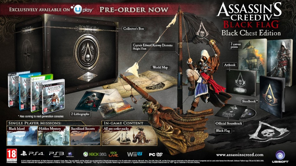 AC4 Black Flag Black Chest