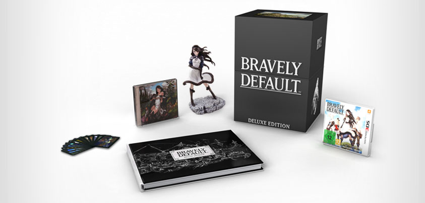 Bravely Default Collectores Pack