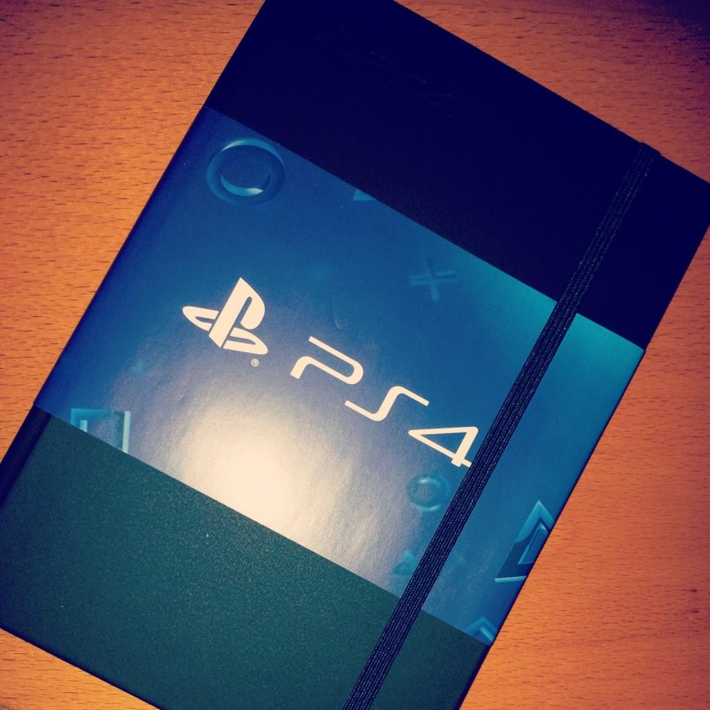 Playstation 4 Notizblock