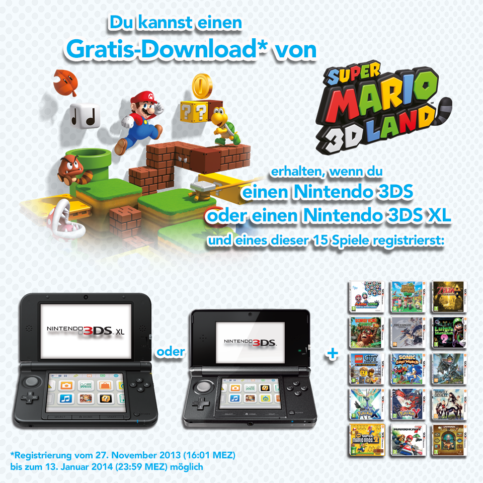 Nintendo 3DS Aktion