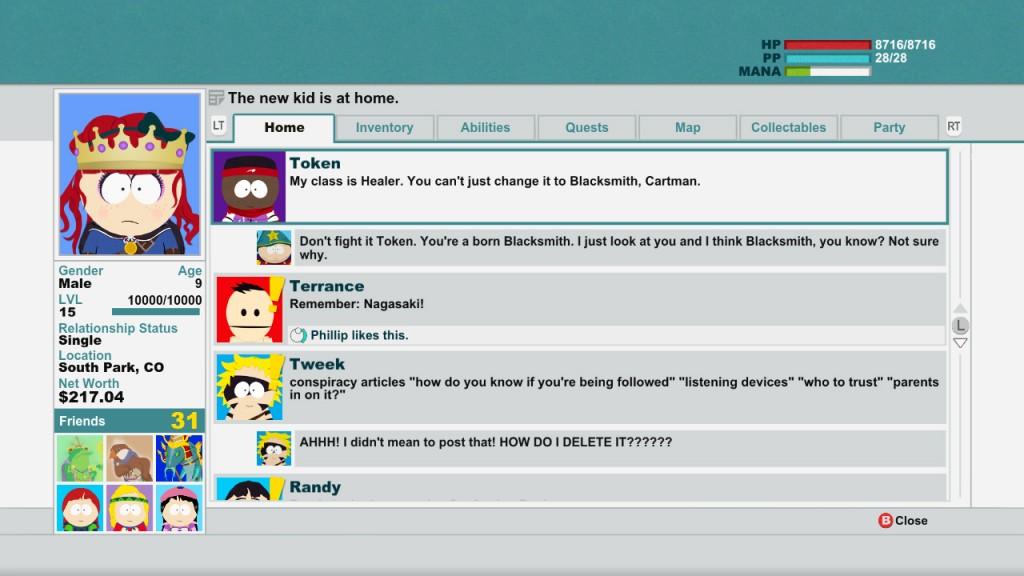South Park FB