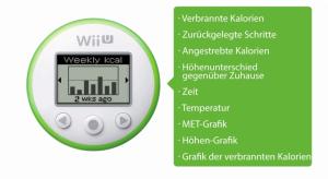 Wii fitmeter
