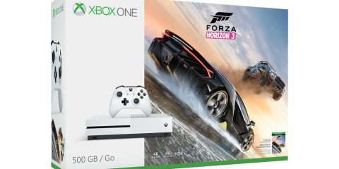 Xbox One S Bundle Forza Horizon 3