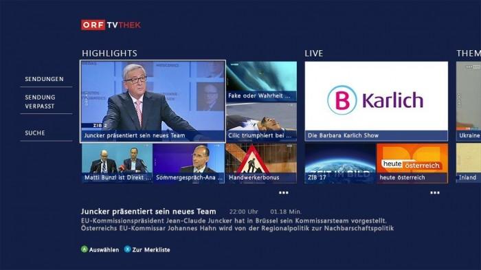 Mit der Xbox One ORF schauen - bald ist es möglich!