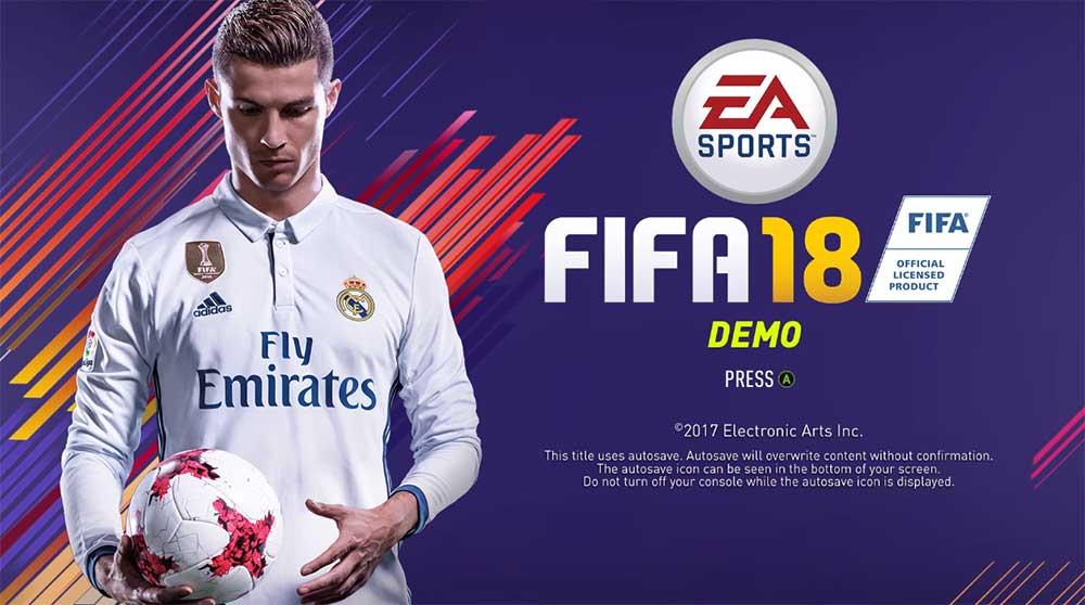 FIFA 18 Demo Datum