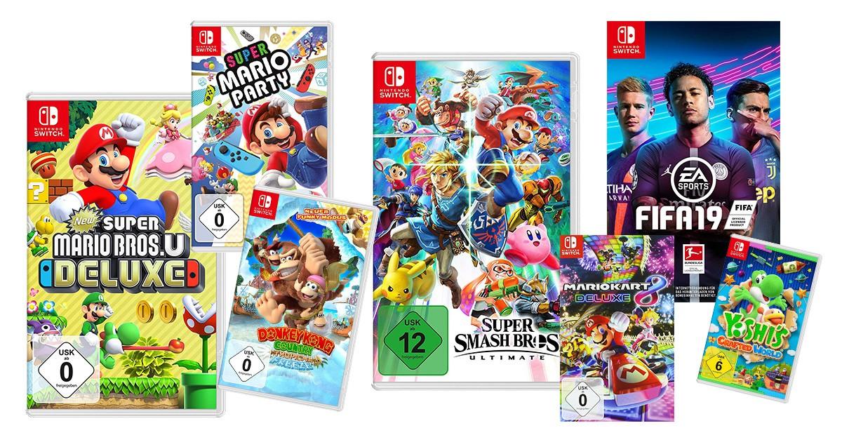 Nintendo Switch Spiele für Kinder
