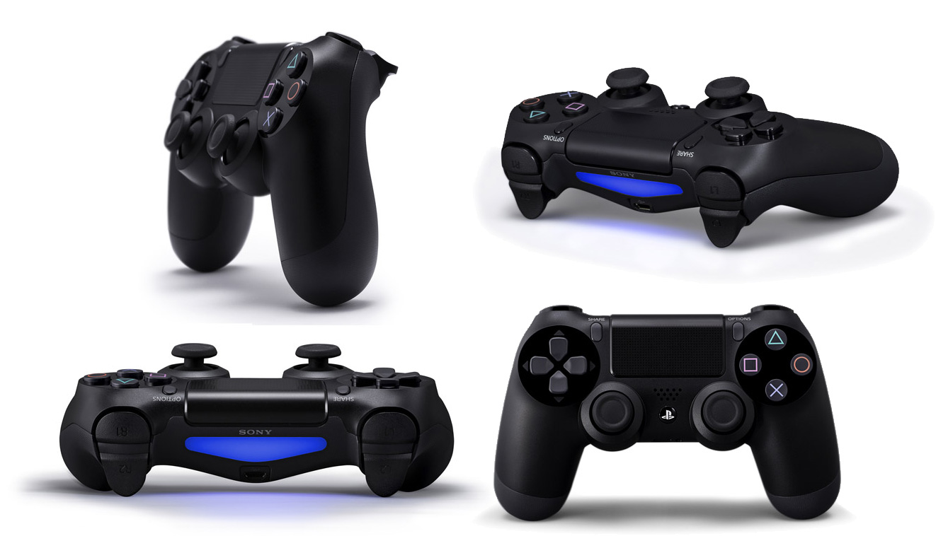 neues video zum ps4 controller playstation 4. Black Bedroom Furniture Sets. Home Design Ideas