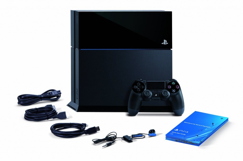 PS4 Lieferumfang