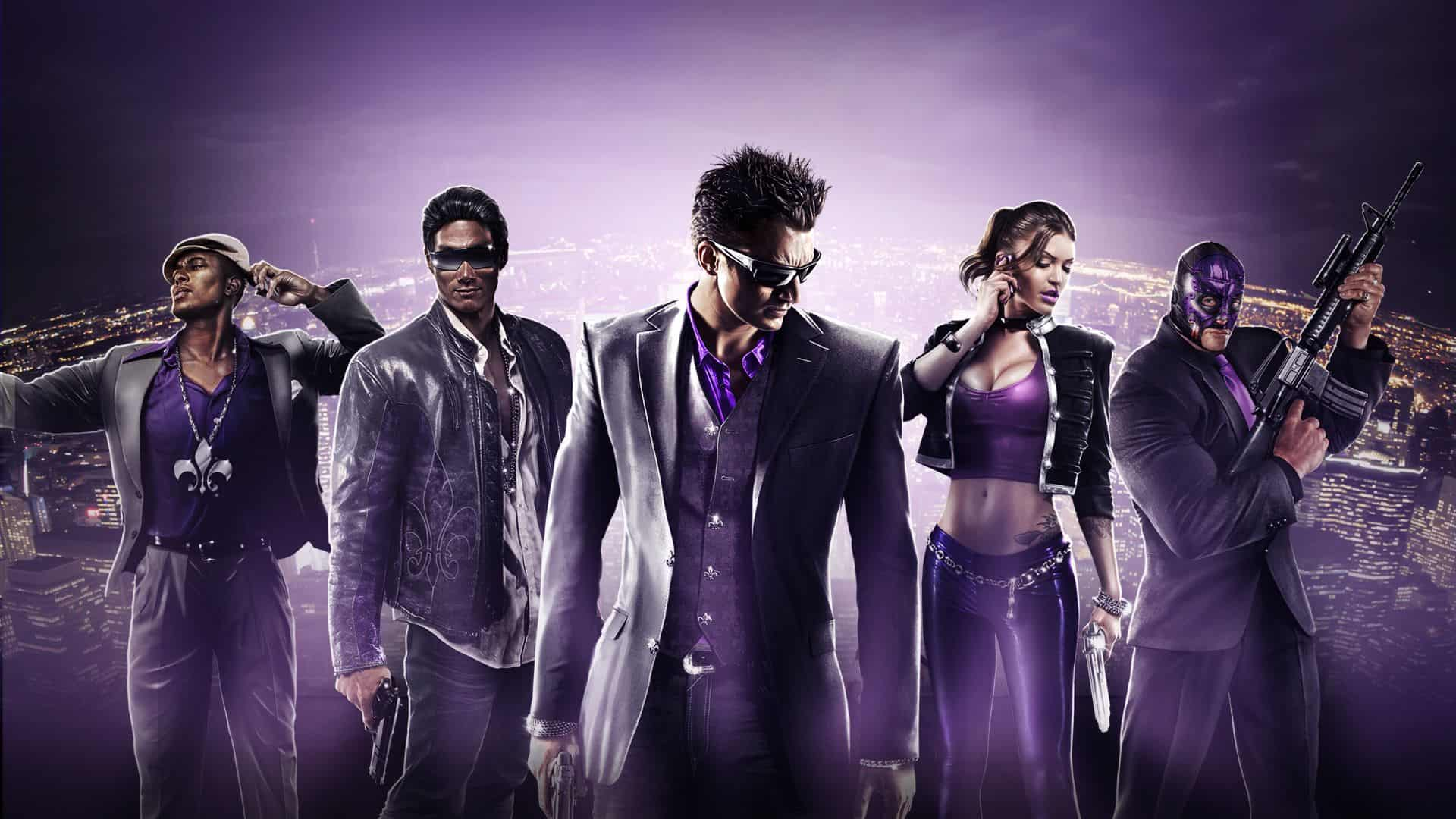 jetzt vorbestellen saints row the third f r nintendo. Black Bedroom Furniture Sets. Home Design Ideas